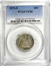 1875-S TWENTY CENT 20C PIECE - PCGS VF20 - NICE AND ORIGINAL - PRICED RIGHT!