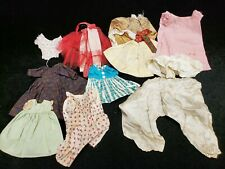 11 pc Vintage Antique Baby Doll Dress Skirts, Panties & More Estate 1900s-1940s