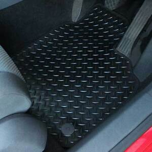 For Seat Ateca 2016+ Fully Tailored 4 Piece Rubber Car Mat Set with 4 Clips