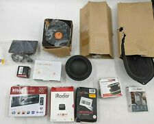 Lot of 14 Open Box Car Speakers, Inverter, GPS and other Car Accessories -DT0118