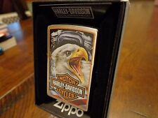 HARLEY DAVIDSON EAGLE ENGINE MAZZI ZIPPO LIGHTER MINT IN BOX