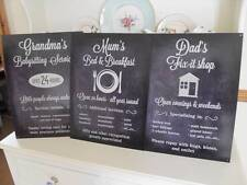 Metal Decorative Indoor Signs/Plaques