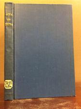 ACTA ET DICTA By St. Paul Catholic Historical Society - 1911 Catholic