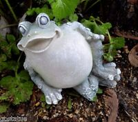 Latex frog mold plaster concrete casting garden mold mould