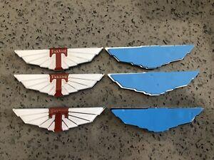 Only Correct Ford EF EL AU Falcon Fairlane XR6 XR8 Tickford Wings Badge x3
