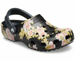 Crocs Classic Printed Floral Clog