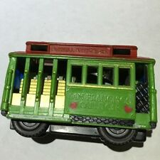 Vintage San Francisco Cable Car-Powell And Hyde Sts. Pull Toy!