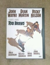 Rio Bravo DVD Western John Wayne Dean Martin Ricky Nelson Angle Dickinson 1958