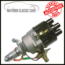 Morris Minor AccuSpark 45d Electronic distributor + HT Custom Leads , FREE TOOL