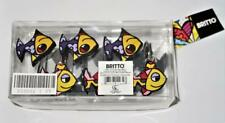 Romero BRITTO Set of 20 FISH Themed Shower Curtain Hooks, #333002 NEW in Pkg