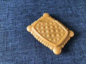 Hasbro 2010 Baby Alive First Tooth Brown Cookie Cracker Replacement Toy