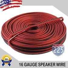 100 FT 16 Gauge Professional Gauge Speaker Wire/ Cable Car Home Audio AWG MARINE