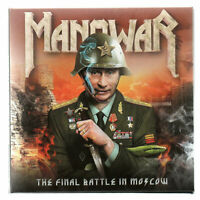 "MANOWAR : ""The Final Battle Of Moscow"" (RARE 2 CD)"