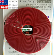 Red 8M Car Wheel Rim Protector Tire Guard  Rubber Moulding Adhesion Promoter