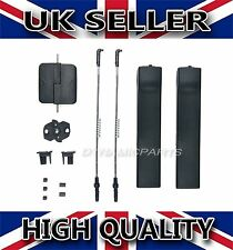 VW TRANSPORTER T5 T6 SLIDING DOOR WINDOW GLASS HANDLE LATCH REPAIR KIT [ L/R]