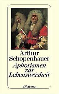 Aphorismen zur Lebensweisheit von Schopenhauer, Arthur   Buch   Zustand gut