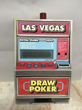 Vintage Casino Slot Machine Coin Bank Poker Game! Las Vegas!