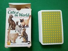 PLAYING CARDS THE FAMOUS CATS OF THE WORLD 1997