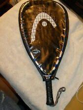 "HEAD Liquidmetal 190 Mega Blast Racquetball Racquet 3 5/8"" Grip Size With Case"