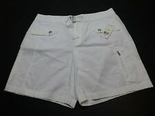 Ralph Lauren Active Womens Size 10 White Khaki Shorts New