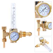Brass Argon CO2 Mig Tig Flow meter Welding Weld Regulator Gauge Gas Welder G5/8