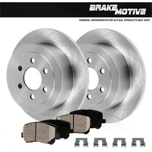 Rear Brake OE Rotors And Ceramic Pads For SLX Pasamigo Rodeo Trooper Vehicross