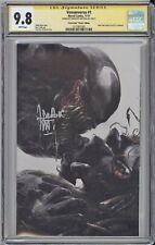 Venomverse #1 CGC SS 9.8 Mattina signed Scorpion comics NYCC VIRGIN SILVE cvr