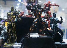 Hot Toys All Neon Tech Iron Man Mark IV V War Machine NEW IN BOX MMS 485 523 553