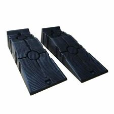 161914 2PCS KATSU Heavy Duty Plastic Garage Workshop Car Service Ramps