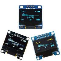 """0.96""""/ 1.3"""" I2C IIC SPI Serial 128X64 OLED LCD LED Display Module for Arduino"""