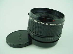 Rokunar 2X Auto Teleconverter HBF for Hasselblad  with Caps