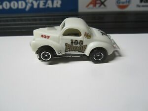 41 WILLYS (100 PROOF) WITH NEW AUTOWORLD CHASSIS HO SLOT CAR