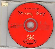 PAUL McCARTNEY 1997 Young Boy PROMO One Track CD Radio beatles rare flaming pie