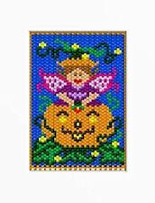 Pixie Pumpkin Fairy Beaded Banner Pattern