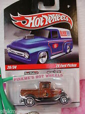 2010 Hot Wheels Delivery '29 FORD PICKUP 1929∞BROWN CAMS~Los Angeles☆Real Riders