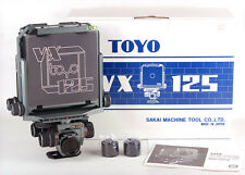Brand new Toyo VX125 4x5 camera, Jade Green VX 125