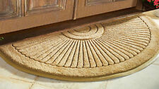 "Sunburst Coir Brush Doormat EXTRA LARGE  30"" x 48"""