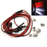 6LEDs Lights 3-7V RC Car Light Set Headlight Taillight 1/10 RC Model Car Truc PM