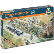 ITALERI Napoleonic French Artillery Set 6031 1:72 Military Figures Kit