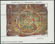 Spanien aus 1980 ** postfrisch Block 22 MiNr.2476-2481 - Wandteppich!