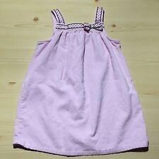 GYMBOREE GIRLS JUMPER DRESS CORDUROY PINK SIZE 5 T TODDLER~ADORABLE
