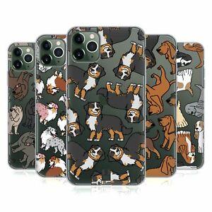 HEAD CASE DESIGNS DOG BREED PATTERNS 7 SOFT GEL CASE FOR APPLE iPHONE PHONES