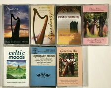 Lot of 7 Irish / Celtic / Harp Cassette Tapes.
