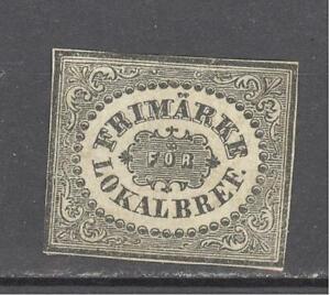 Sweden 1856 Mi 6 MH no gum