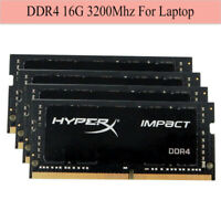 For HyperX Impact 16GB 32GB 64GB DDR4 3200MHz PC4-25600 Laptop Memory CL20 ARMG