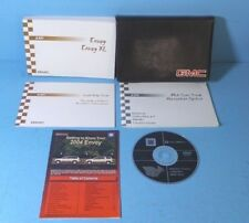 04 2004 GMC Envoy/Envoy XL owners manual with Navigation and Navigation CD