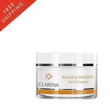 CLARENA RETINOL & MANDELIC ACID CREAM 50ml MATURE SKIN BEST PRICE