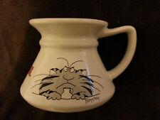 SANDRA BOYNTON CAT White Ceramic No-Spill 10 oz Mug-Keep Your Paws Off..