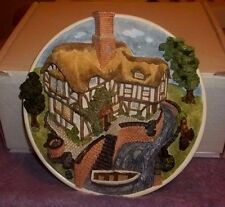 David Winter Collectors Guild*On The Riverbank* Plate* New W/Box