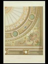 PLAFOND D'ESCALIER, LOUIS XIV -1900 - GRANDE LITHOGRAPHIE, DECORATION, PEINTURE